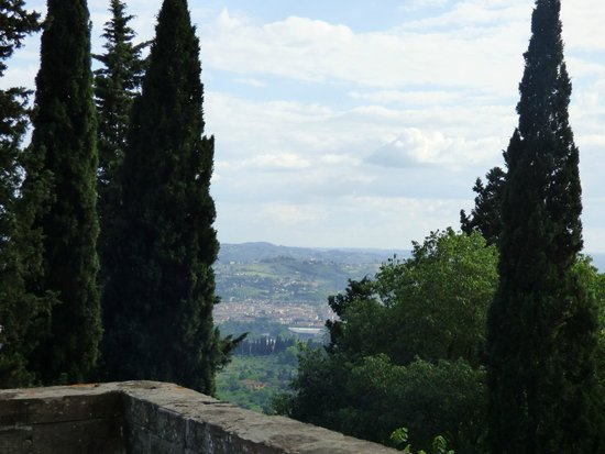 FH Villa Fiesole Hotel : View of Florence from room