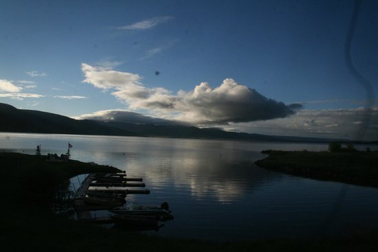 The Drift Lodge : Morning at Moose Bay Cabins