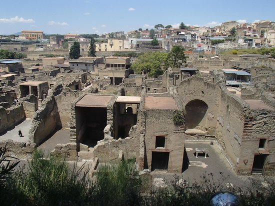 Herculaneum Ercolano: Another view from the top
