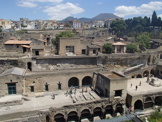 Herculaneum Ercolano: View from the top
