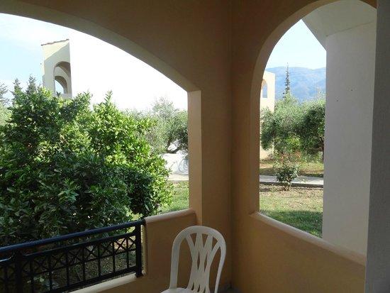 Vardis Olive Garden: View from room terrace