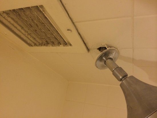 Denver Marriott City Center: Grimy vents and loose showerheads