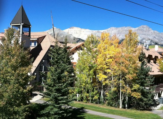 The Inn at Lost Creek: view from room