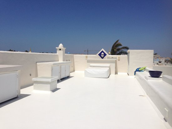 Bahiazul Villas & Club : Sunbathing bed!