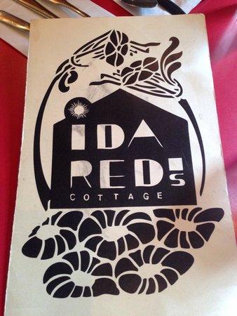 Ida Red's Cottage: Menu