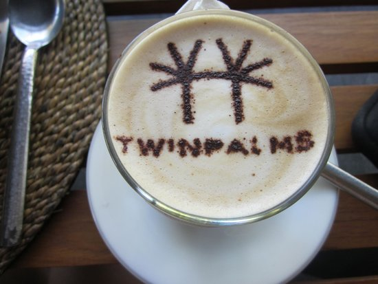 Twinpalms Phuket : Morning Latte