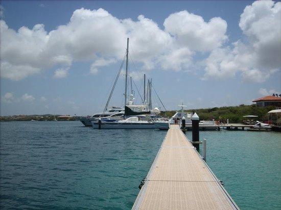 Santa Barbara Beach & Golf Resort, Curacao: Board Walk