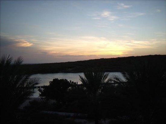 Santa Barbara Beach & Golf Resort, Curacao: Sunset