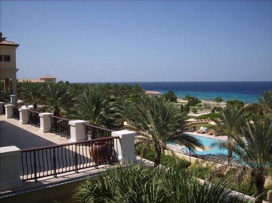Santa Barbara Beach & Golf Resort, Curacao: Hotel View from Balcony