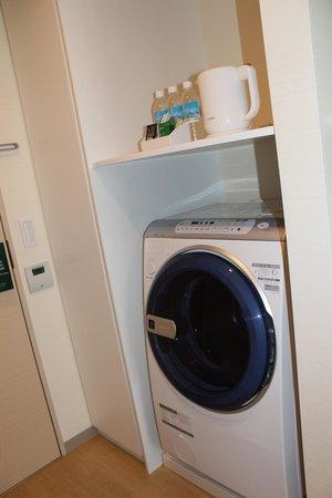Fraser Residence Nankai Osaka : washing machine cum dryer