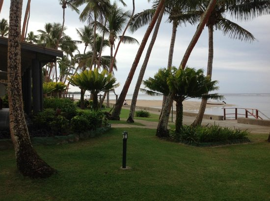 Fiji Hideaway Resort & Spa: View from our beach front villa