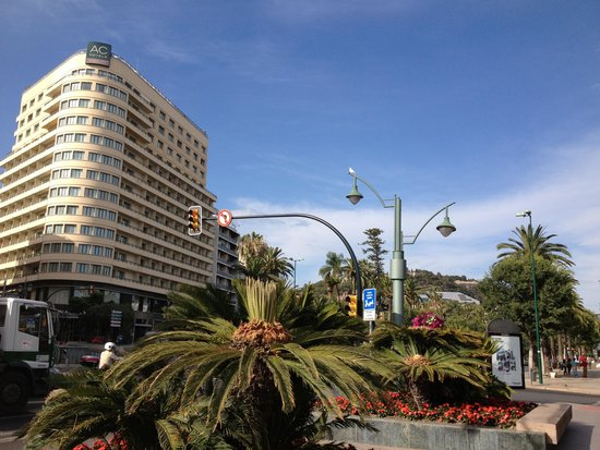 AC Hotel Malaga Palacio: exterior of the hotel