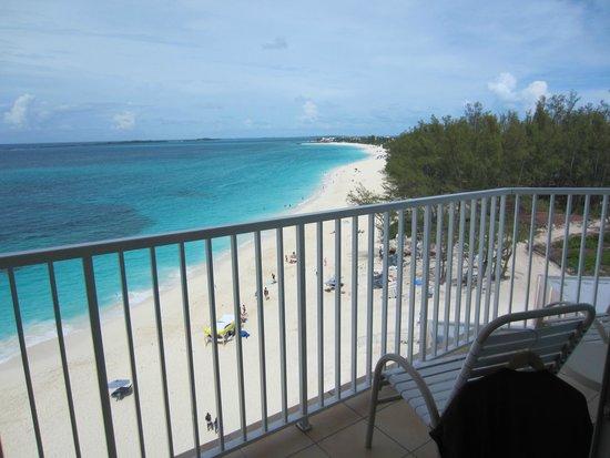 Hotel Riu Palace Paradise Island: View from balcony