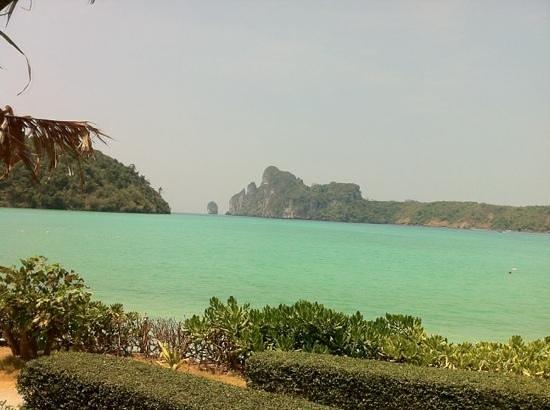 Phi Phi Island Cabana Hotel : vista da area da piscina