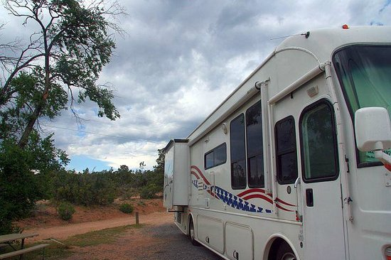 Rancheros de Santa Fe Campground: Site 122