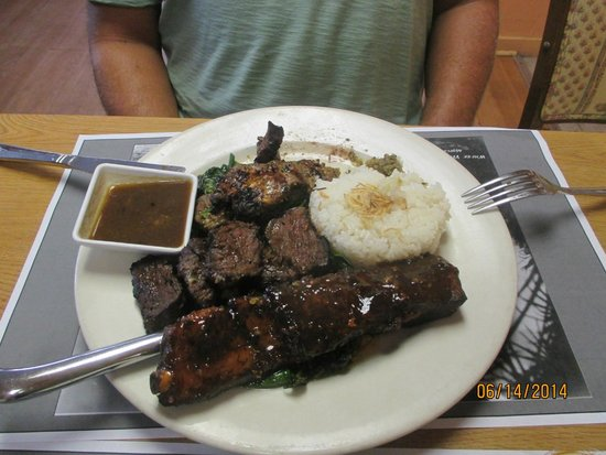 Curry Creek Cafe: Mixed Grill