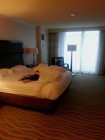 The Westin San Diego Gaslamp Quarter: good beds everything perfectly clean