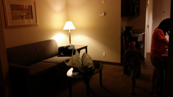Holiday Inn Express Hotel & Suites Huntsville: suite room