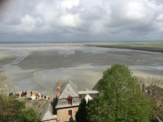 Abbaye du Mont-Saint-Michel : View from the top