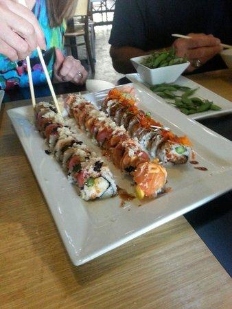 Drunken Fish - Westport Plaza: Signature sushi