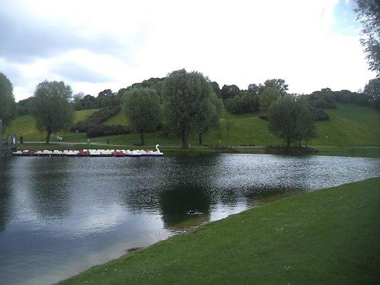 Olympiapark: Lago