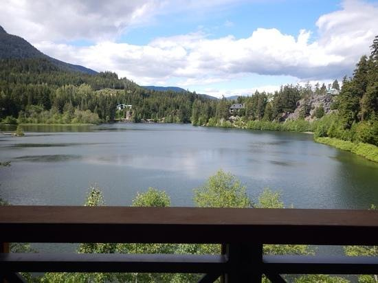 Nita Lake Lodge: View from our balcony