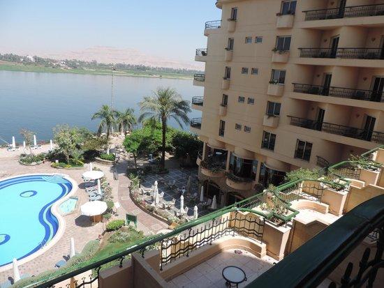 Steigenberger Nile Palace Luxor: Vista da Suite