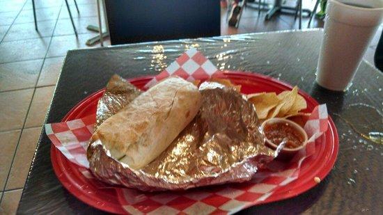 Epic Burrito Company: Burrito