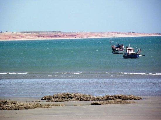 Pousada Teodoro : Vista da pousada para o mar