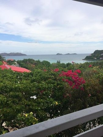 Hotel Le Village St Barth: view from breakfast