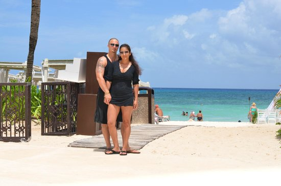 The Royal Playa del Carmen: Close to our room