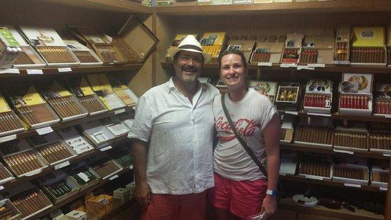 Havana Bob's Cuban Cigars: Havana Bob himself.. :)
