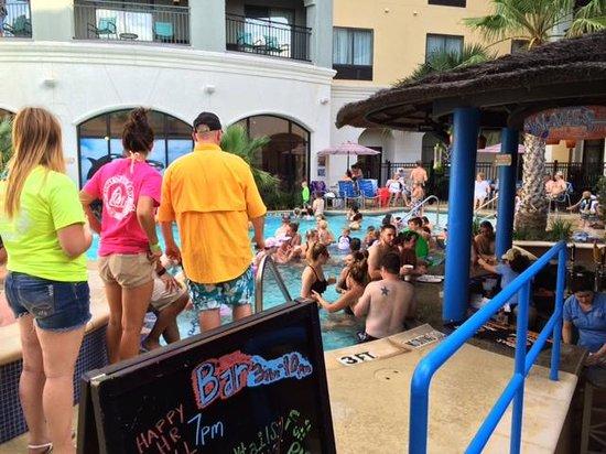 Courtyard San Antonio SeaWorld®/Westover Hills : Pool bar