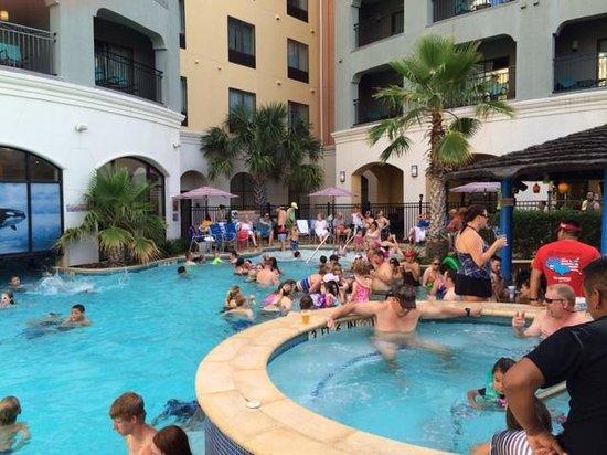 Courtyard San Antonio SeaWorld®/Westover Hills: Pool party