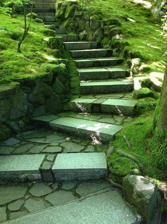 Portland Japanese Garden: Stairs