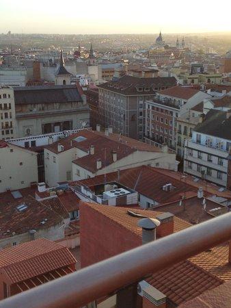Hotel Regina: vista desde el roof garden