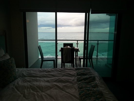 Seashells Mandurah: main bedroom view a view