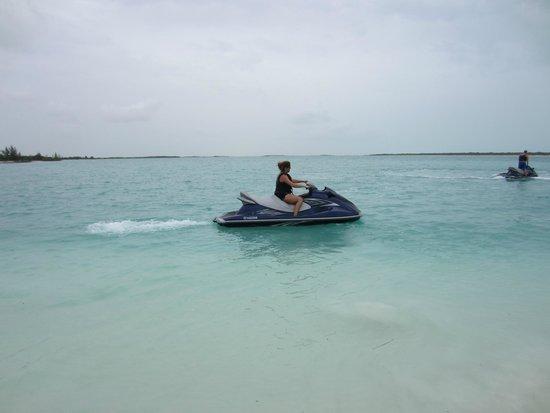 Caribbean Cruisin Charters, Tours & Excursions: Jet ski tour!