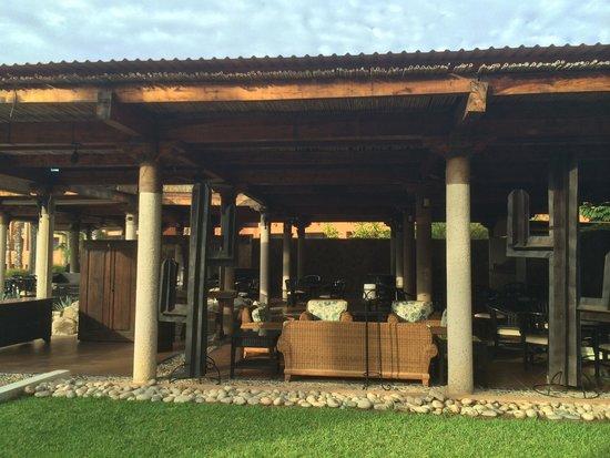 Paradisus Los Cabos: Terraza exterior