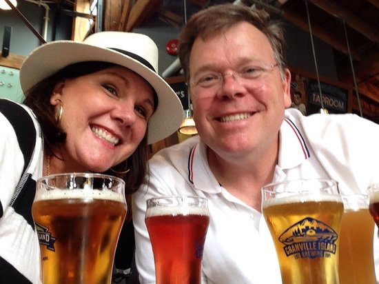 Granville Island Brewing: We liked the Lager the best! Cool little gift shop attached also.