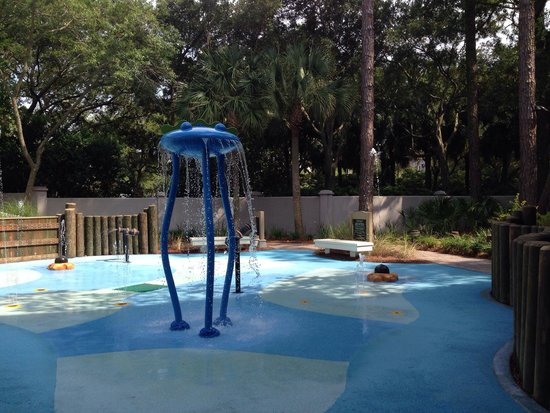Marriott's Barony Beach Club: Splash pad