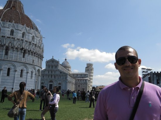 La tour de Pise (Campanile) : Pisa