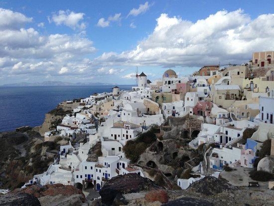 Theoxenia Boutique Hotel: City of Oia again