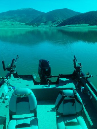 Turquoise Trout: typical conditions in the early morning
