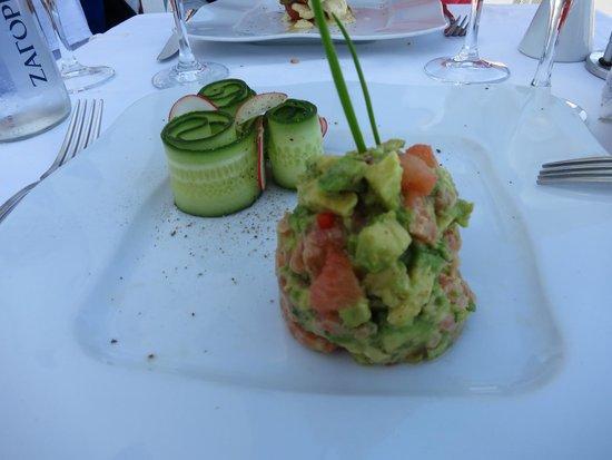 Ambrosia Restaurant: Salmon Tartare