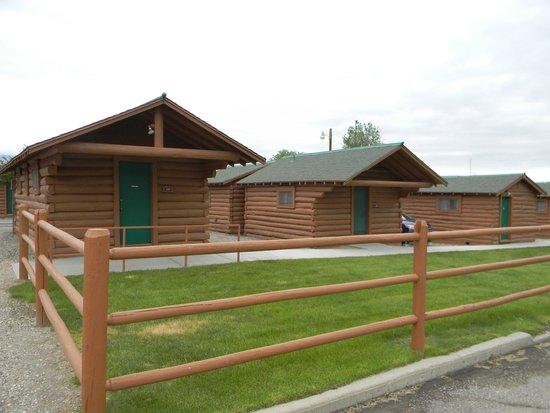 Buffalo Bill Cabin Village : Cabins
