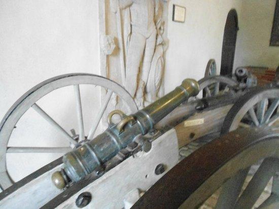 Altenburg: Os canhões.