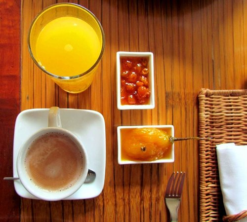 Hotel Boutique Sazagua: Nothing wrong with their breakfast!