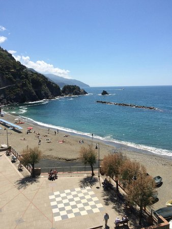 Hotel Pasquale: View from our room