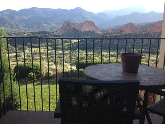 Garden of the Gods Club and Resort: View from room
